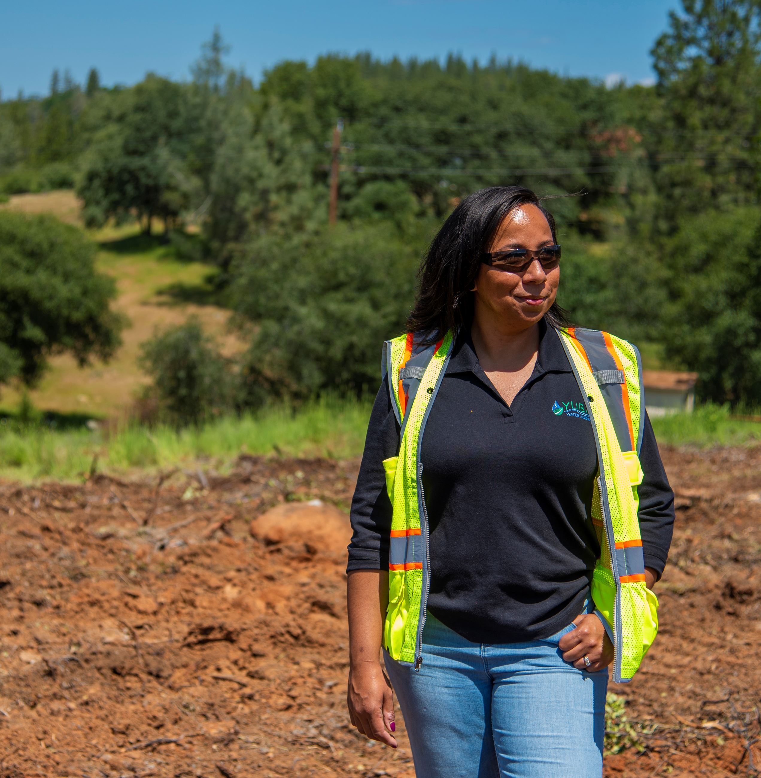 Yuba Water Agency's contracts and procurement administrator Andrea Armstrong