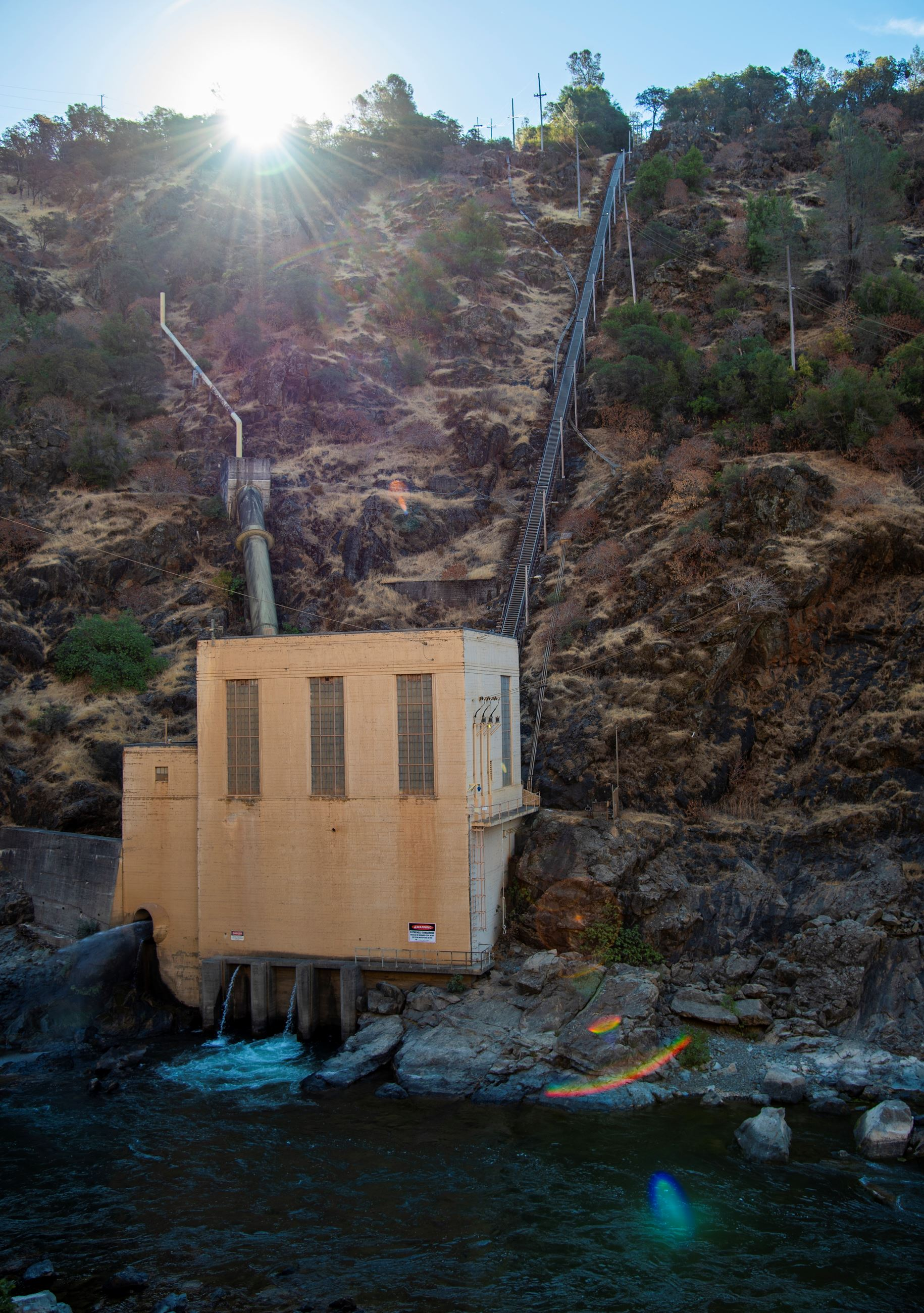 Narrows 1 Hydroelectric facility on the lower Yuba River
