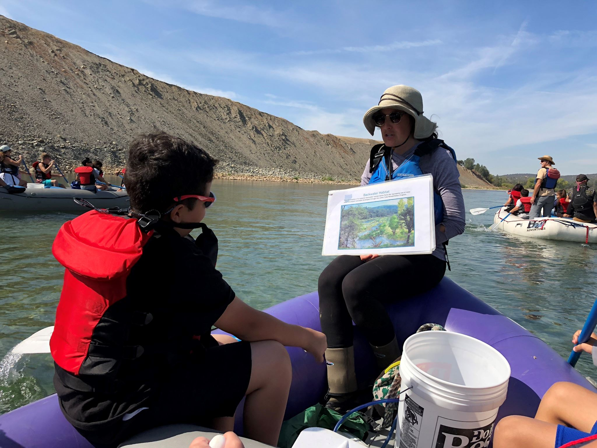 Salmon Expedition - Ella Elementary River Tour  Opens in new window